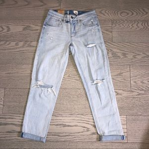 Garage Ripped Girlfriend Baggy Jeans